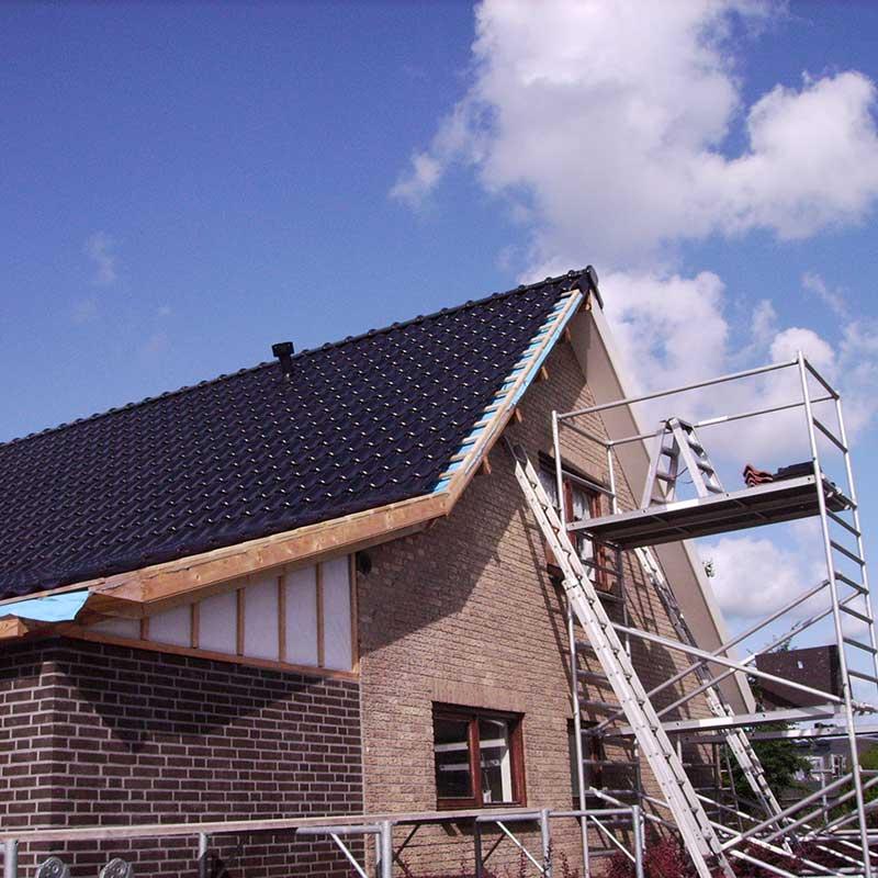 Verbouwin dak - Kagerbouw